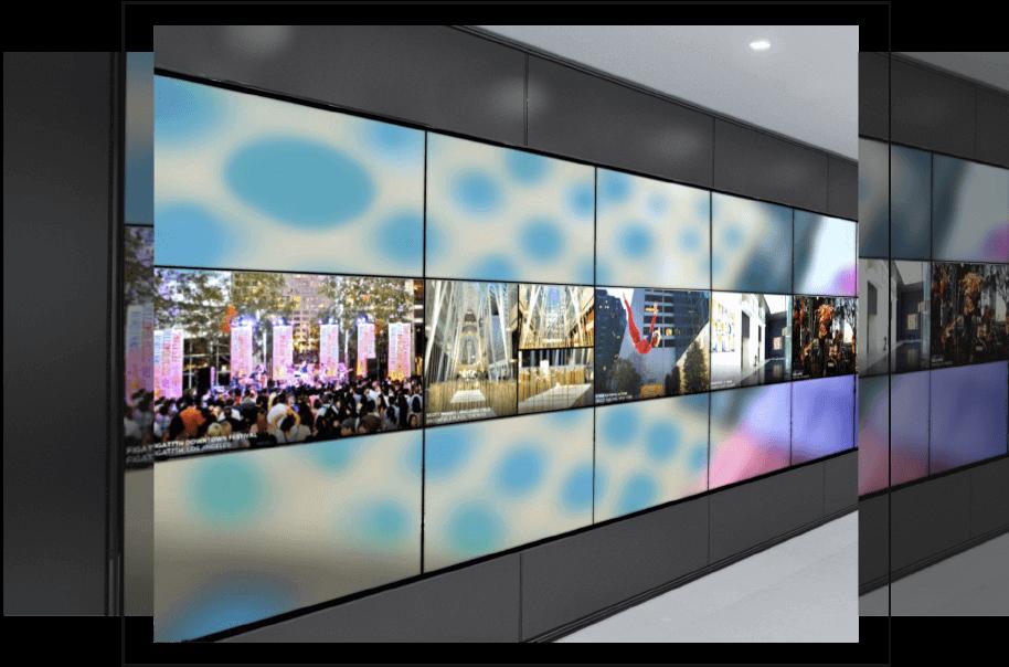 televisores industriales